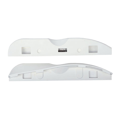 Razors Shift Slide Plates, White