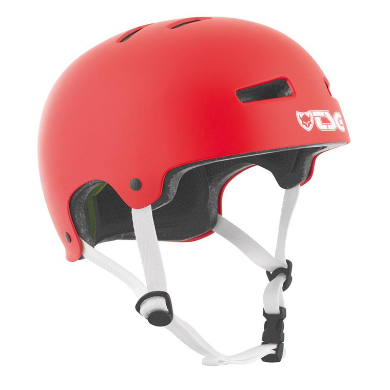TSG Protection Evolution Skate/BMX Helmet, Fire Red Protection TSG S/M