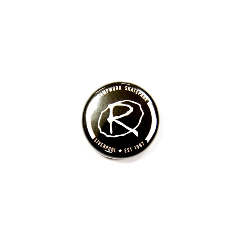 Rampworx Logo Badge, Black Accessories Rampworx