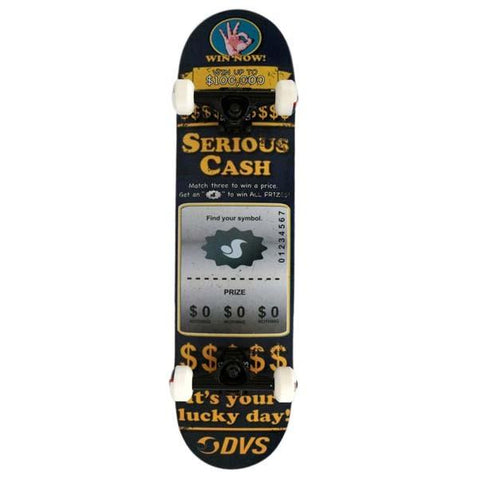 DVS Serious Cash Skateboard 7.75 Blue