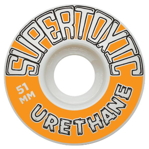 Super Toxic Urethane The Staple 51mm Skateboard Super Toxic