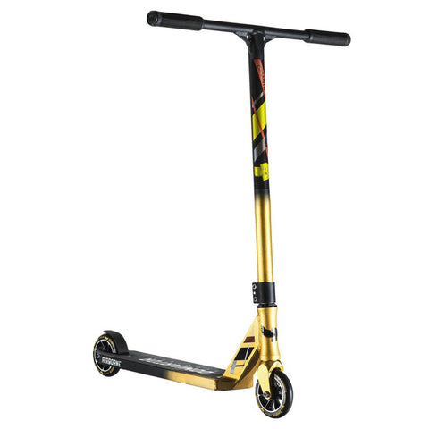 Dominator Scooters Team Edition Complete Stunt Scooter, Gold/Black