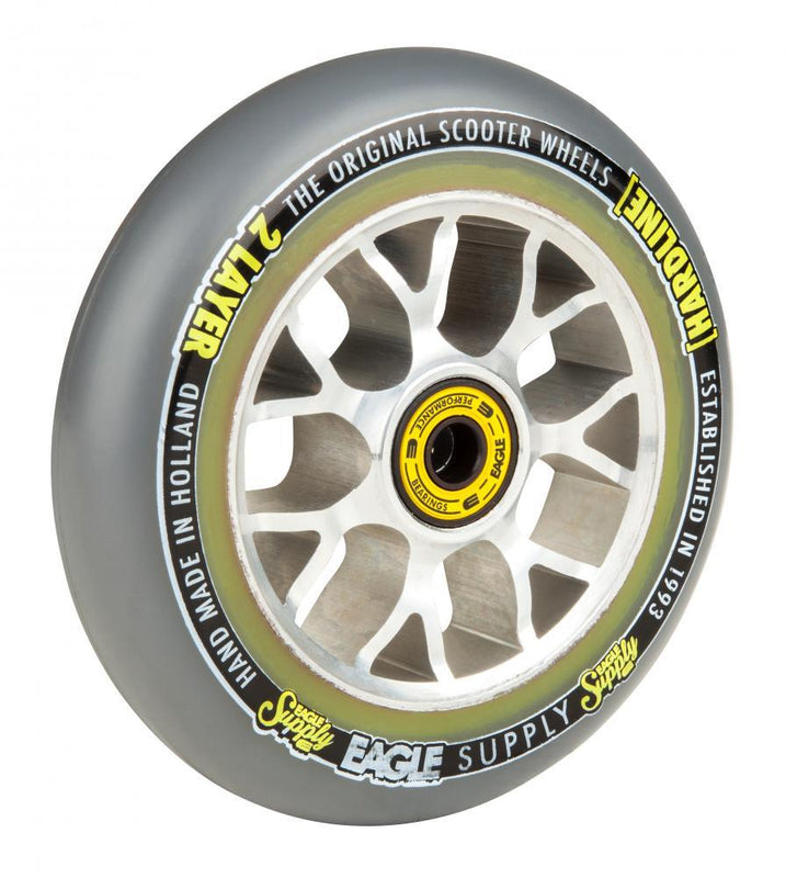 Eagle Supply Wheel 115mm H/Line 2/L Hollowcore Sewercaps Stunt Scooter Eagle Supply Co