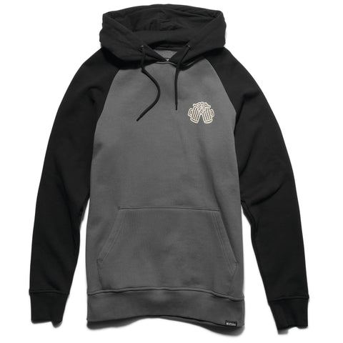 Etnies On Tap Pullover Hoodie, Grey/Black