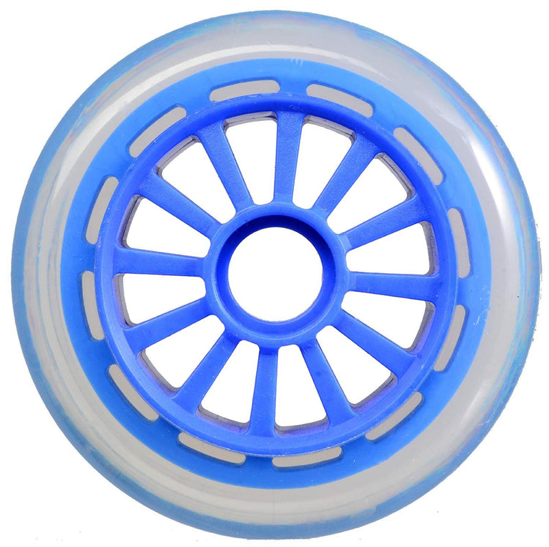 Yak Scooters Low Profile Spoked 100MM Scooter Wheel Blue Scooter Wheels yak
