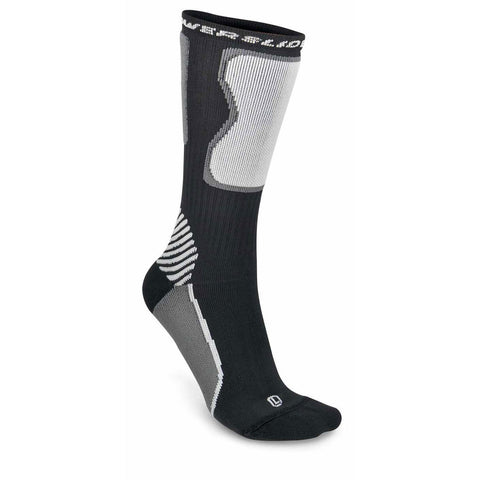 Powerslide Skate Socks Black/White (Friction Reducing Socks)