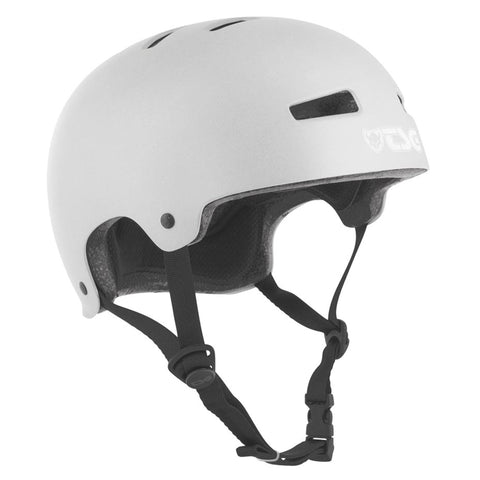TSG Protection Evolution Skate/BMX Helmet, Silver