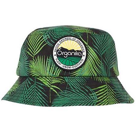 Organika Palms Bucket Hat, Green