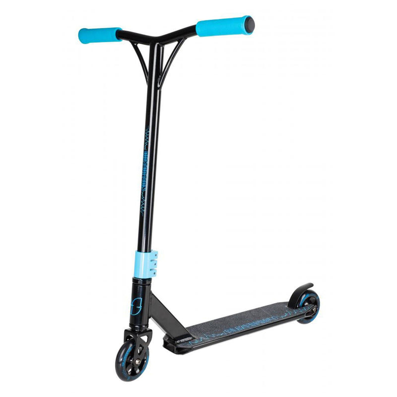 Blazer Pro Scooters Distortion Complete Stunt Scooter, Black/Blue Stunt Scooter Blazer Pro