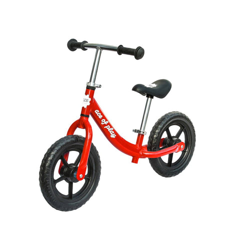 Ace Of Play Childrens Balance Bike, Red