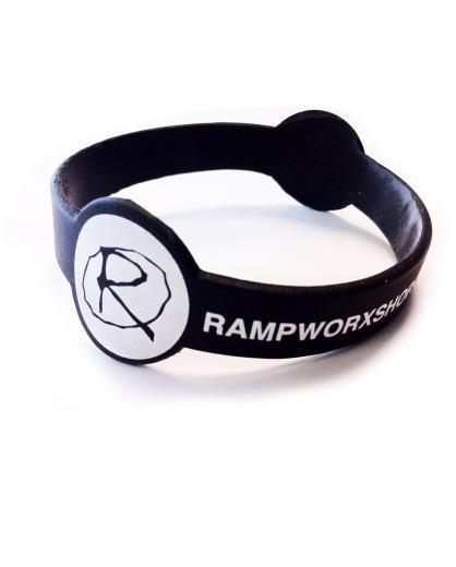 Rampworx Rubber Wristband, Black Accessories Rampworx