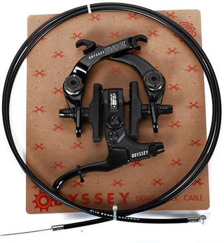 Odyssey BMX Evo 2 Complete Brake Kit, Black