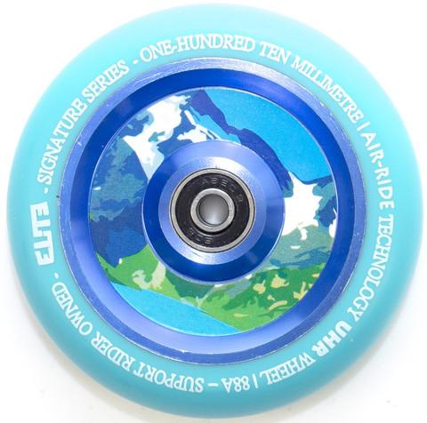 Elite Air Ride Scooter Wheel 110mm, Aqua Stunt Scooter Elite 125mm