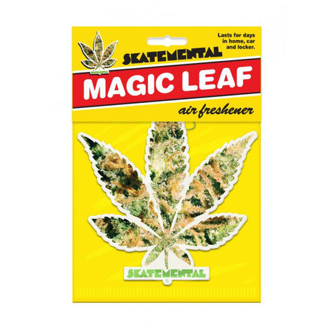 Skate Mental Air Freshener Weed Leaf