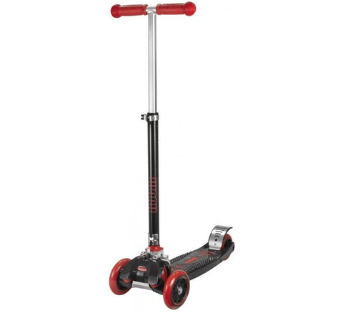 Worx Movemax 3 Wheel Foldable Kids Scooter - Black/Red