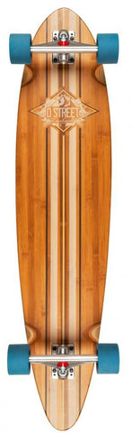 D-Street Longboards Pintail Bamboo Marina, Brown