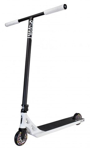 Addict Scooters Revenger Complete Stunt Scooter, White/Black