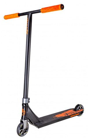 Addict Scooters Defender MKII Scooter Complete, Black/Orange