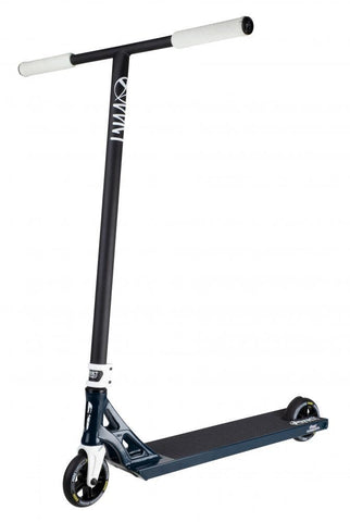 Addict Scooters Revenger Complete Stunt Scooter, Black,Blue,white
