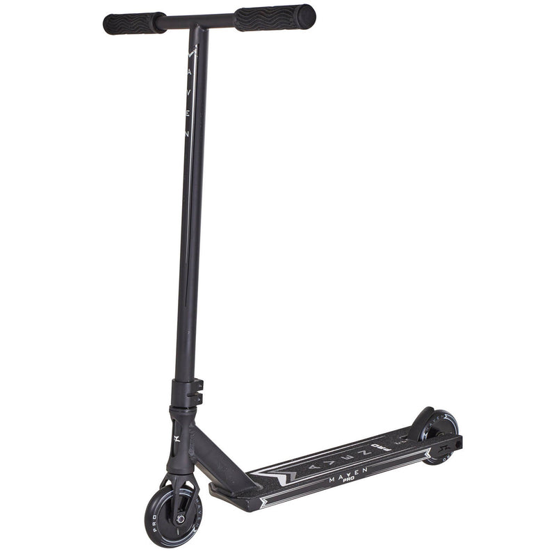 AO Scooters Maven Pro V3 Complete Stunt Scooter, Black