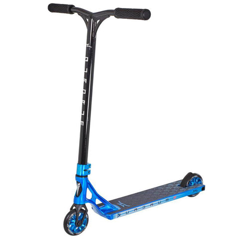 AO Scooters Quadrum 3 Complete Stunt Scooter, Blue