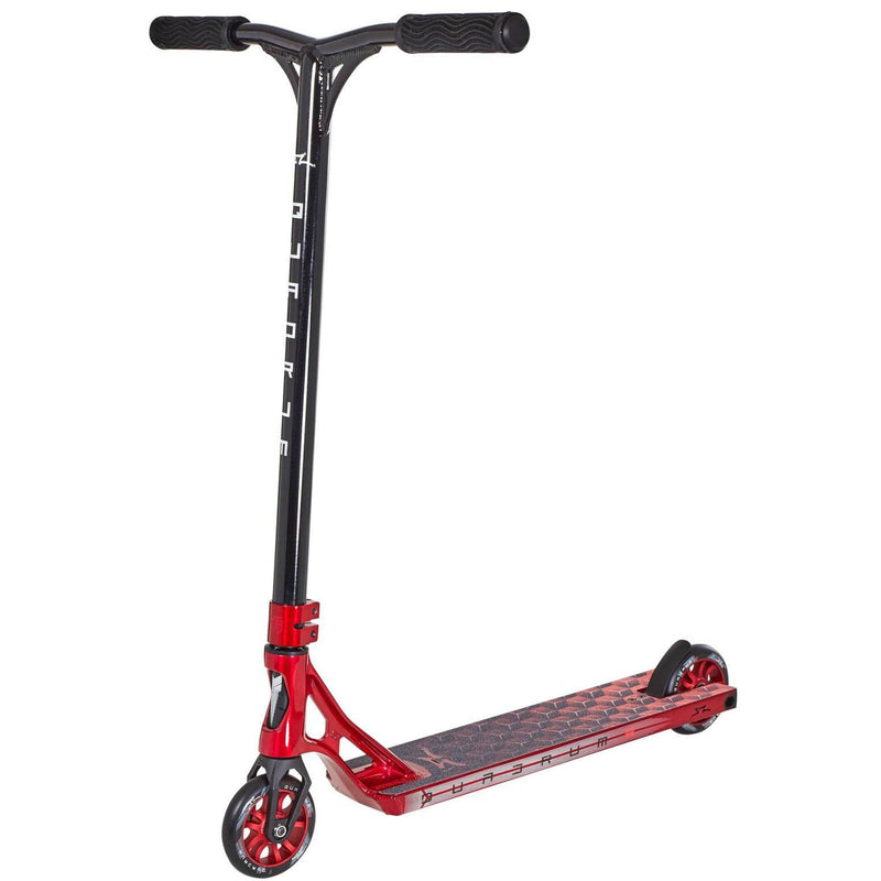 AO Scooters Quadrum 3 Complete Stunt Scooter, Red