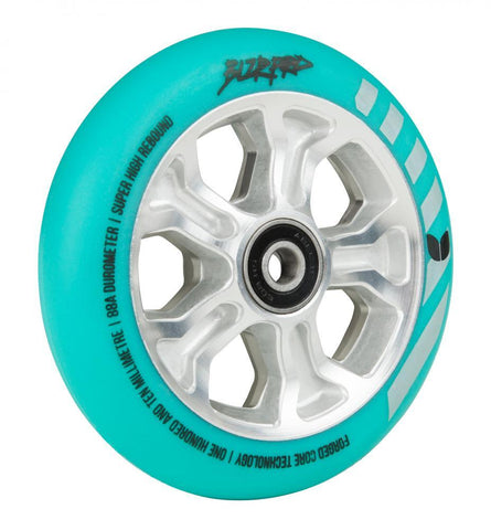 Blazer Pro Scooter Wheel Rebellion Forged 110mm - Mint Blue/Silver