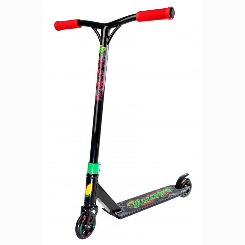 Blazer Pro Scooters Distortion Complete Stunt Scooter, Rasta