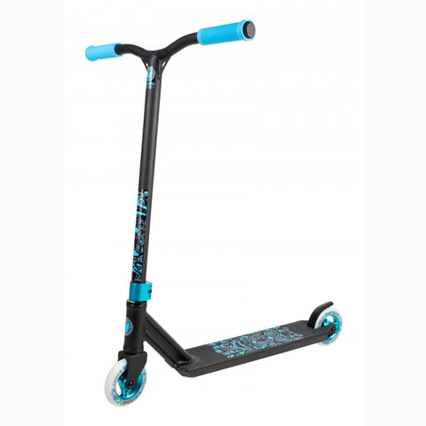 Blazer Pro Scooters Spectre Complete Stunt Scooter, Black/Blue