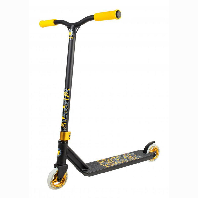 Blazer Pro Scooters Spectre Complete Stunt Scooter, Black/Gold