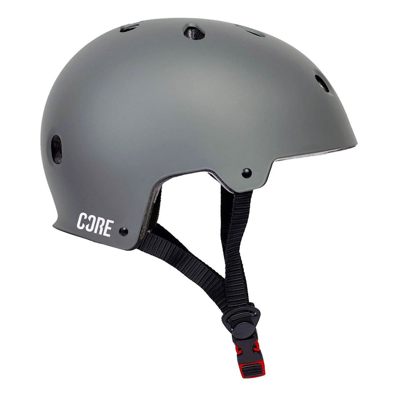 CORE Basic Skate Helmet - Grey Protection CORE