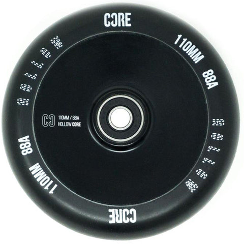CORE Hollow Stunt Scooter Wheel V2 110mm - Black