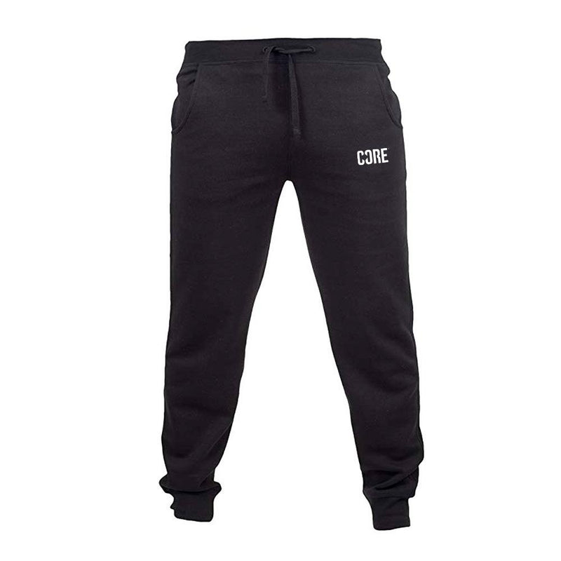 CORE Slim Fit Joggers Small Logo - Black Clothing CORE