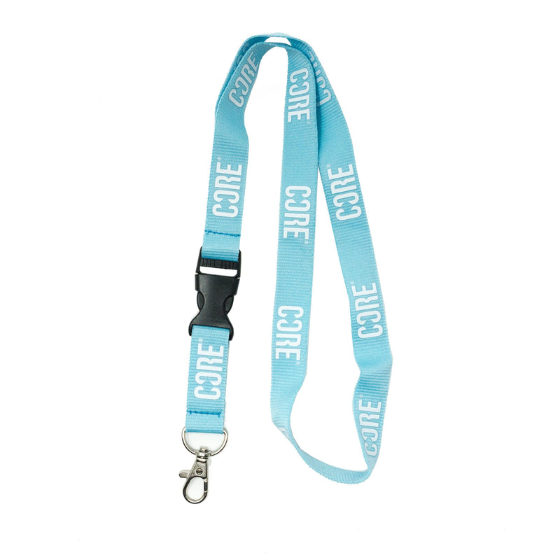 CORE Lanyard Keychain - Blue/White Accessories CORE