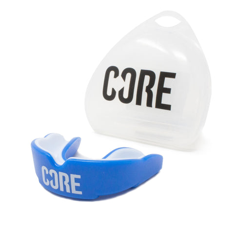 CORE Protection Mouth Guard/Gum Shield - Blue