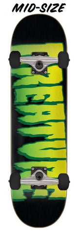 "Creature Skateboards Logo Complete Skateboard 7.5"" Black/Green"
