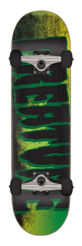 "Creature Skateboards Logo Scan Complete Skateboard 7.75"" Black/Green"