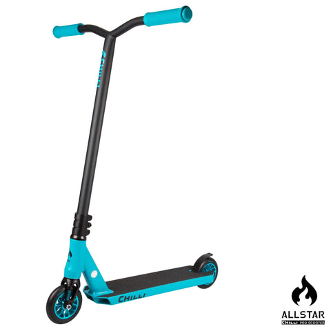 Chilli Pro Scooters All Star Reaper Complete Stunt Scooter - Ice/Black