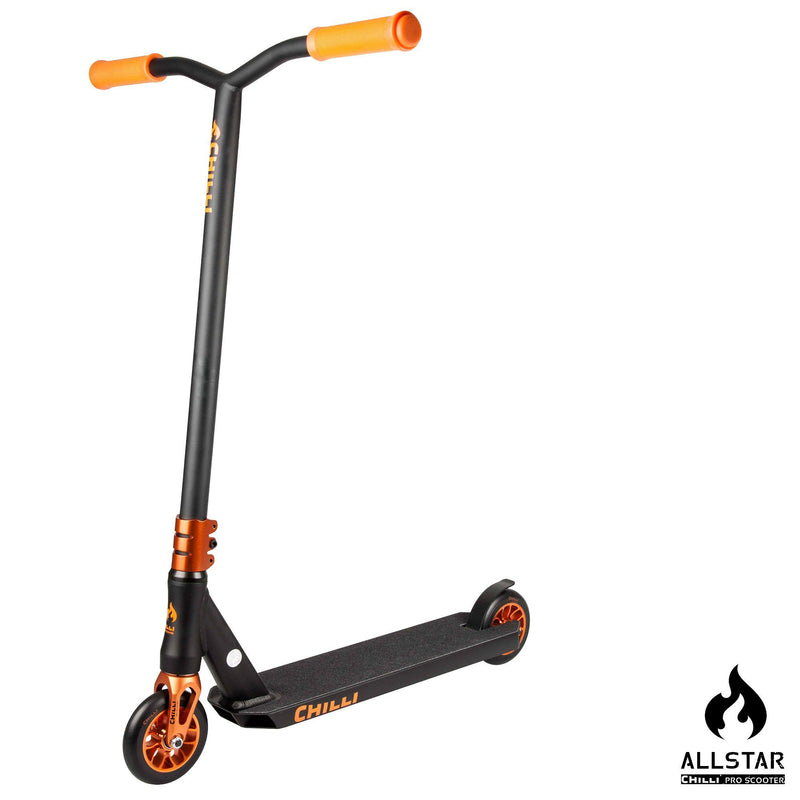 Chilli Pro Scooters All Star Reaper Complete Stunt Scooter - Sun/Black Stunt Scooter Chilli Pro