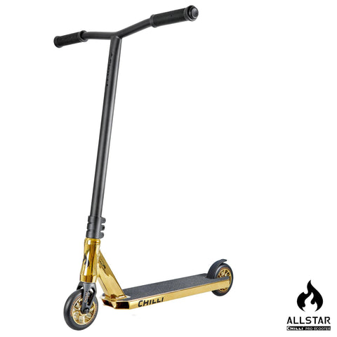 Chilli Pro Scooters All Star Reaper Complete Stunt Scooter - Gold/Black