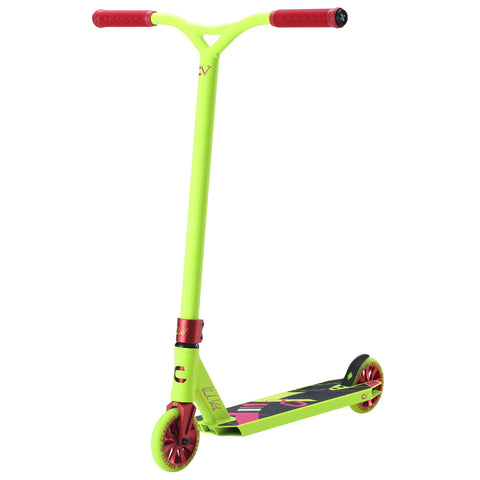 Claudius Vertesi Team Edition Complete Stunt Scooter, Neon