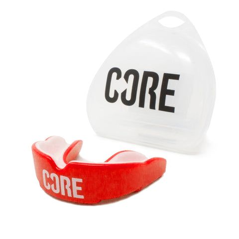 CORE Protection Mouth Guard/Gum Shield - Red