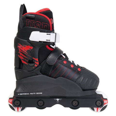 USD Skates Transformer Kids Aggressive Skates UK1-3, EX DISPLAY WITH BOX
