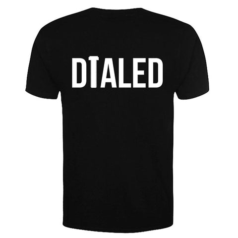 Rampworx Skatepark Dialed Competition Tshirt, Black