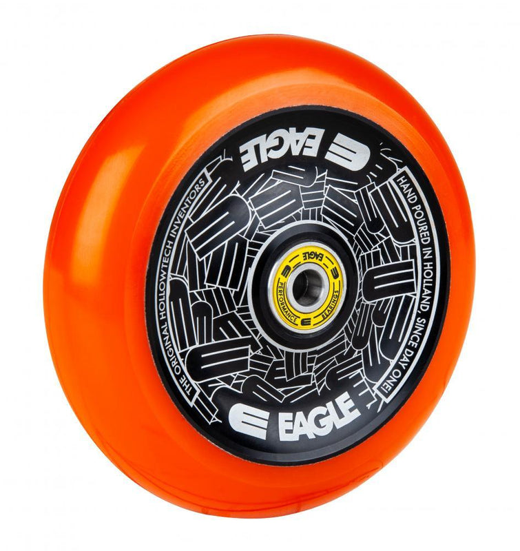 Eagle Supply Radix HLW Tech Scooter Wheel 115mm, Orange/Black Scooter Wheels Eagle Supply Co