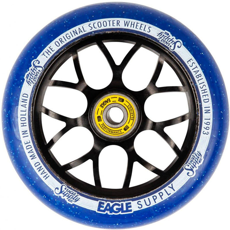 Eagle Supply Wheels Standard X6 Candy Cores, Blue Scooter Wheels Eagle Supply Co