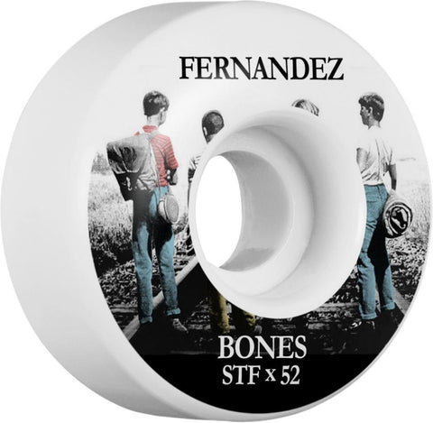 Bones Skateboard Wheels 52mm Wheel, STF Fernandez Con Amigos V1