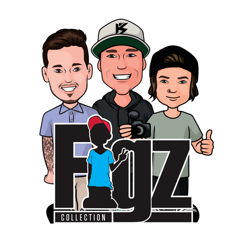 FIGZ Collection Stickers - All versions