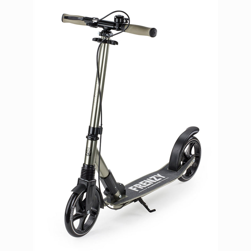 Frenzy Scooters 205mm Dual Brake Recreational Scooter, Champagne