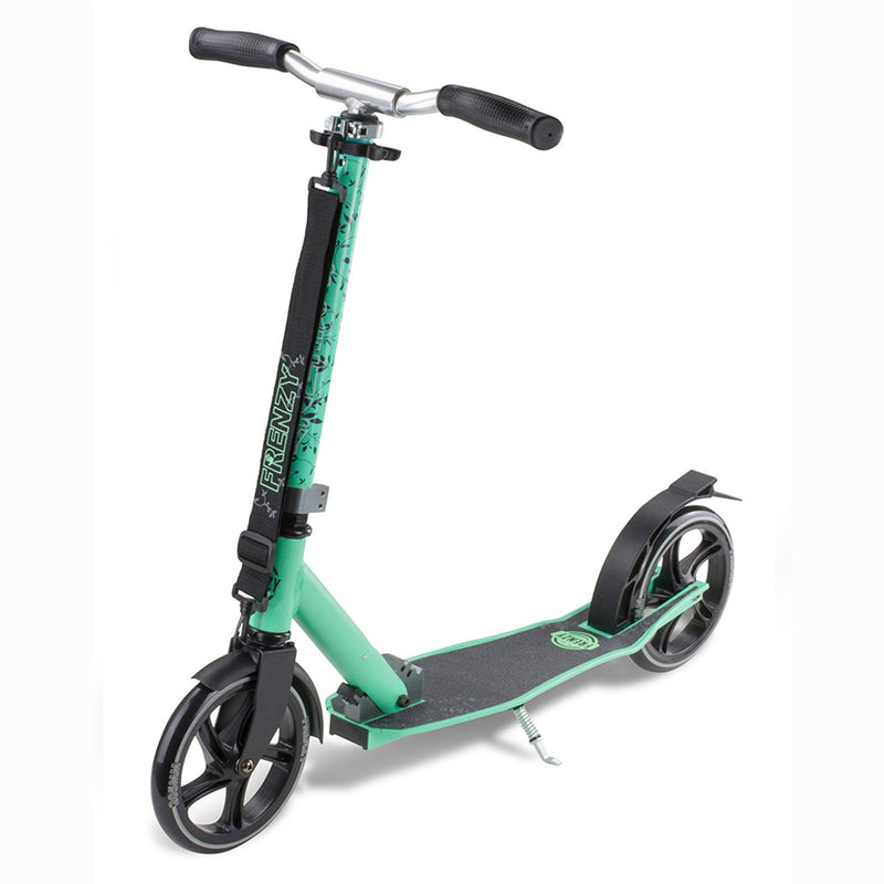 Frenzy Scooters 205mm Kids Recreational Scooter, Teal Stunt Scooter Frenzy Scooters